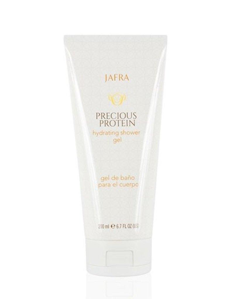 Jafra Cosmetics Precious Protein | Reichhaltiges Feuchtigkeitsspendendes Bade- und Duschgel | Tube | 200 ml