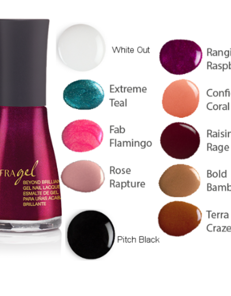 Jafra Cosmetics Jafra Beyond Brilliant Gel Nagellack | Gel Nail Lacquer | Glasflasche 12 ml  & Jafra Beyond Brilliant Gel UV Überlack | UV Top Coat | Glasflasche 12 ml