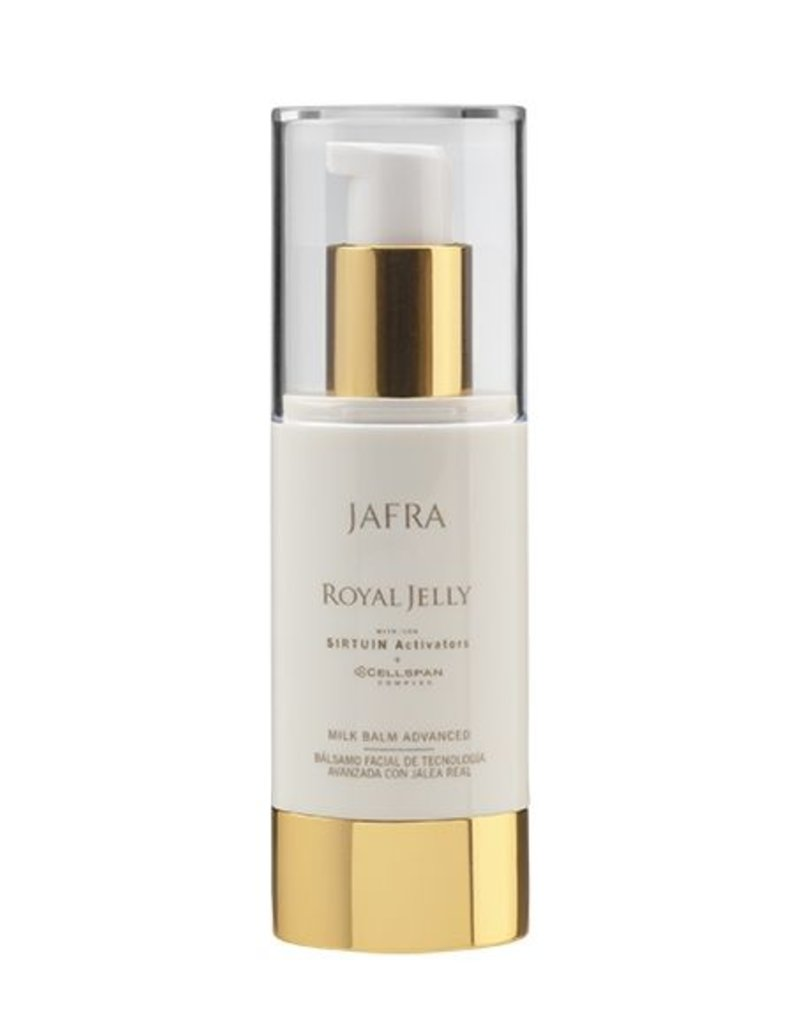 Jafra Cosmetics Jafra Royal Jelly Milk Balm | Feuchtigkeitsbalsam Advanced | Spenderflasche | 30 ml