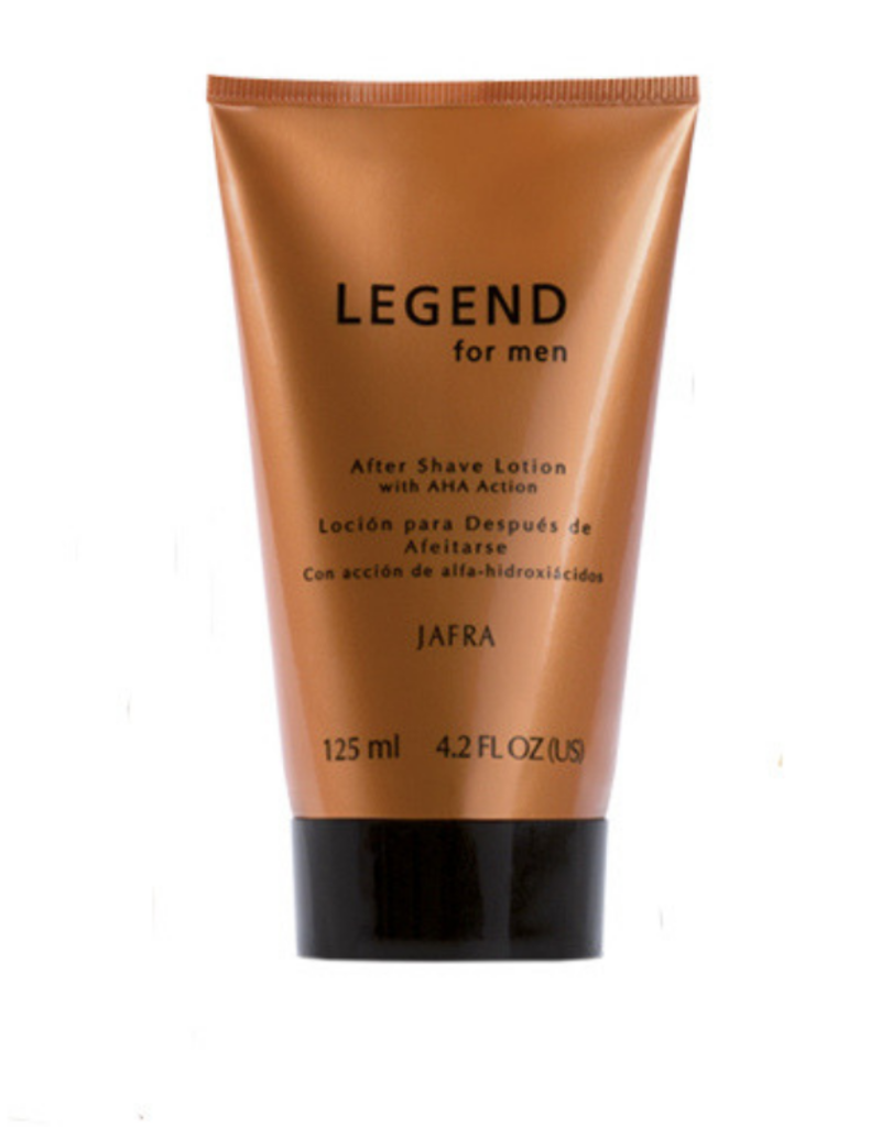 Jafra Cosmetics Jafra Legend After Shave Lotion mit Fruchtsäurewirkung | Jafra Legend After Shave Lotion with AHA action |Tube 125 ml]