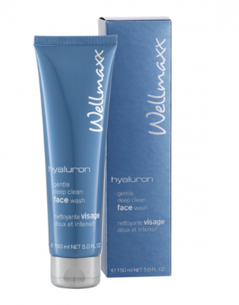 Wellmaxx Hyaluron  Gesichtsreinigungscreme  - Deep Clean Face Wash 150 ml