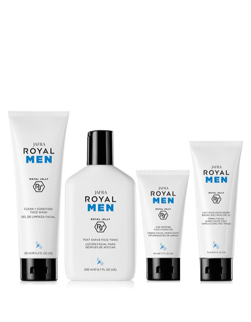 Jafra Cosmetics Jafra Royal Men Set - 4 Produkte - fix im Set