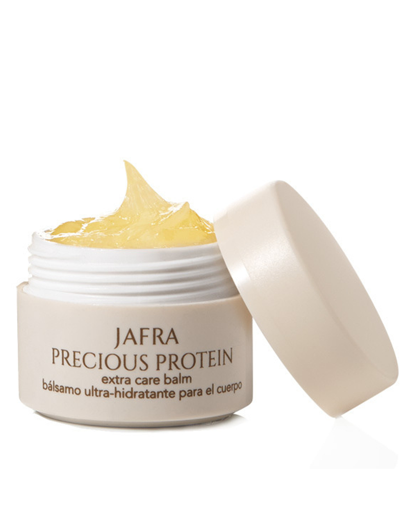 Jafra Cosmetics Jafra Precious Protein | Extra Reichhaltiger Pflegebalsam  | Extra Care Balm |Tiegel | 15 ml
