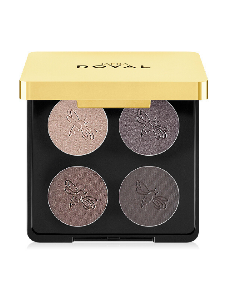 Jafra Cosmetics Jafra Luxury Lidschaten Quartett Sterling Smoke- Luxury Eyeshadow Quad -  7,6 g