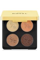 Jafra Cosmetics Jafra Luxury Lidschatten Quartett Golden Muse- Luxury Eyeshadow Quad -  7,6 g