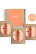 Apricot SPARSET -Apricot Dekolletée Silikon Pad - 3 für 2