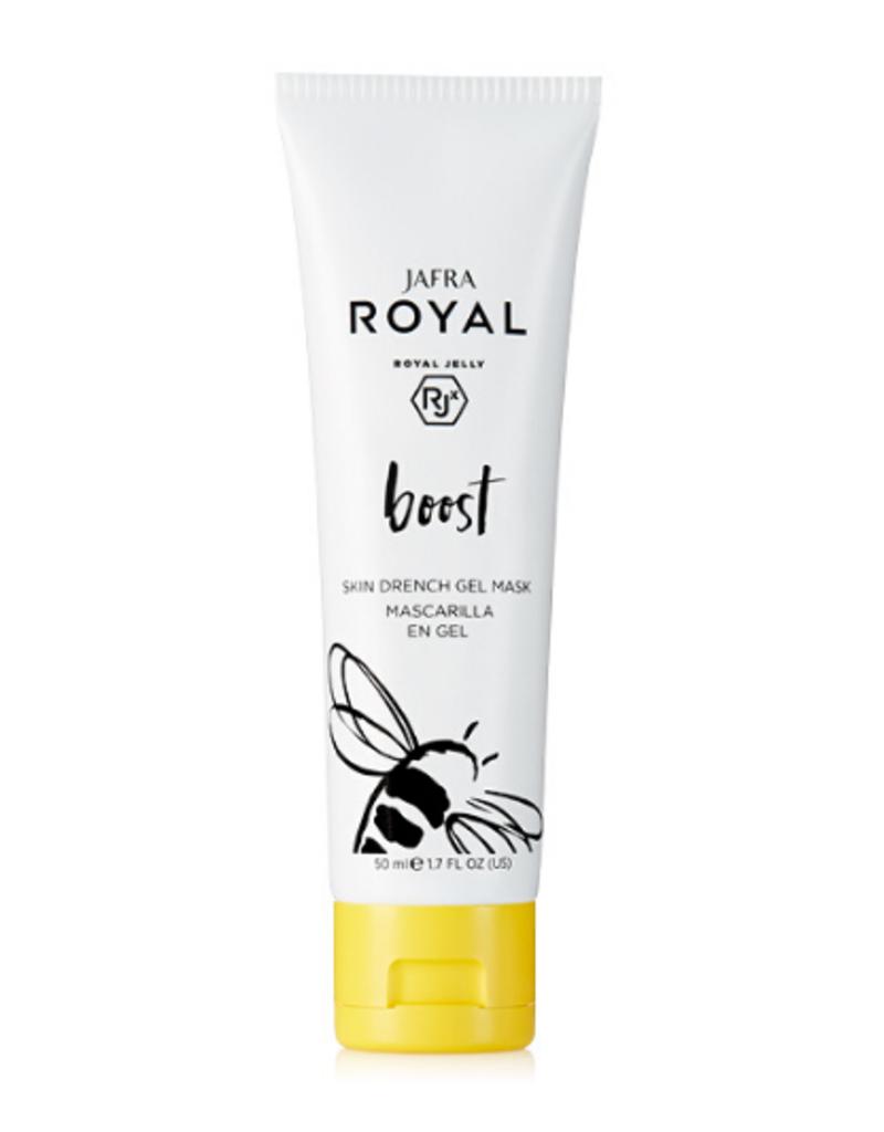 Jafra Cosmetics Jafra Royal Boost Feuchtigkeitsgelmaske |  Skin Drench Gel Mask | Tube | 50 ml