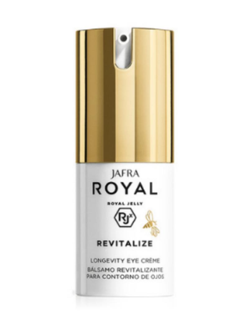 Jafra Cosmetics Jafra Royal Jelly Revitalize Vitalisierende Augenpflege | Longevity Eye Cream | Spender 15 ml