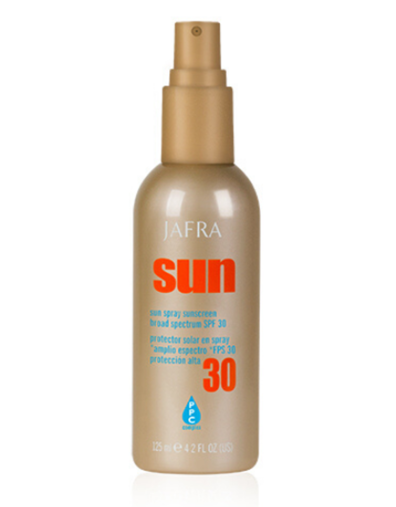 Jafra Cosmetics Jafra Sonnenschutz Spray für Gesicht und Körper SPF 30 - 125 ml
