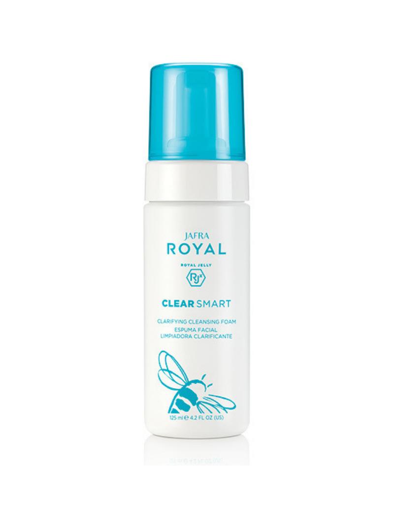 Jafra Cosmetics Jafra Clear Smart Klärender Reinigungsschaum   Clarifying Cleansing Foam    Flasche   125 ml