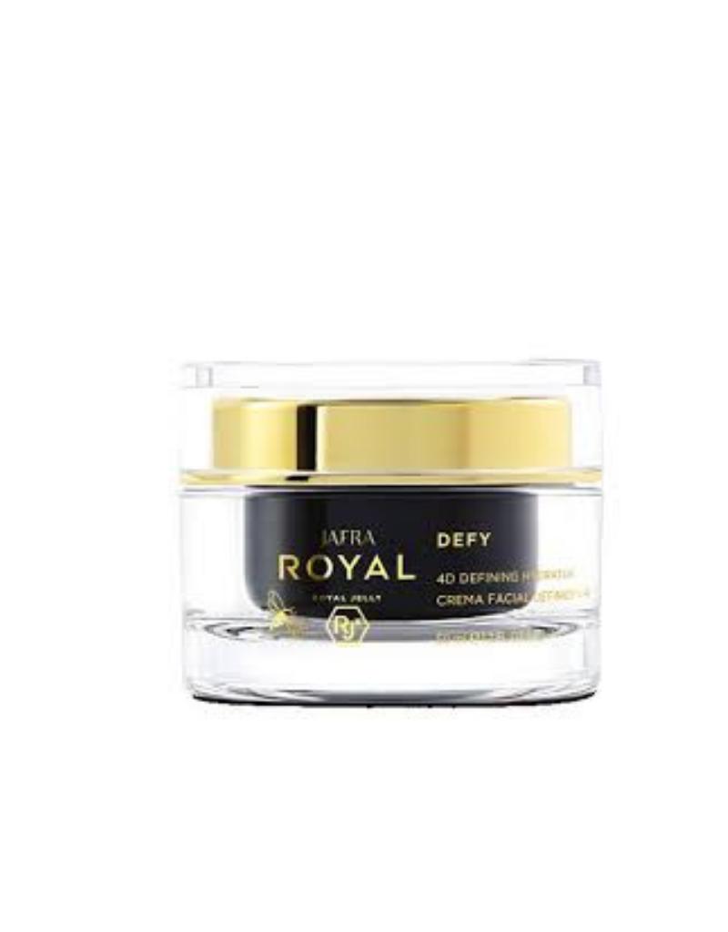 Jafra Cosmetics Jafra Royal Defy 4D Definierende Feuchtigkeitscreme   4D Definiung Hydrator   Tiegel   50 ml