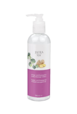 Jafra Cosmetics Jafra Spa Ingwer und Eucalyptus Körpermassagecreme    and Eucalyptus Body Massage Cream   Flasche  mit Spender  250 ml