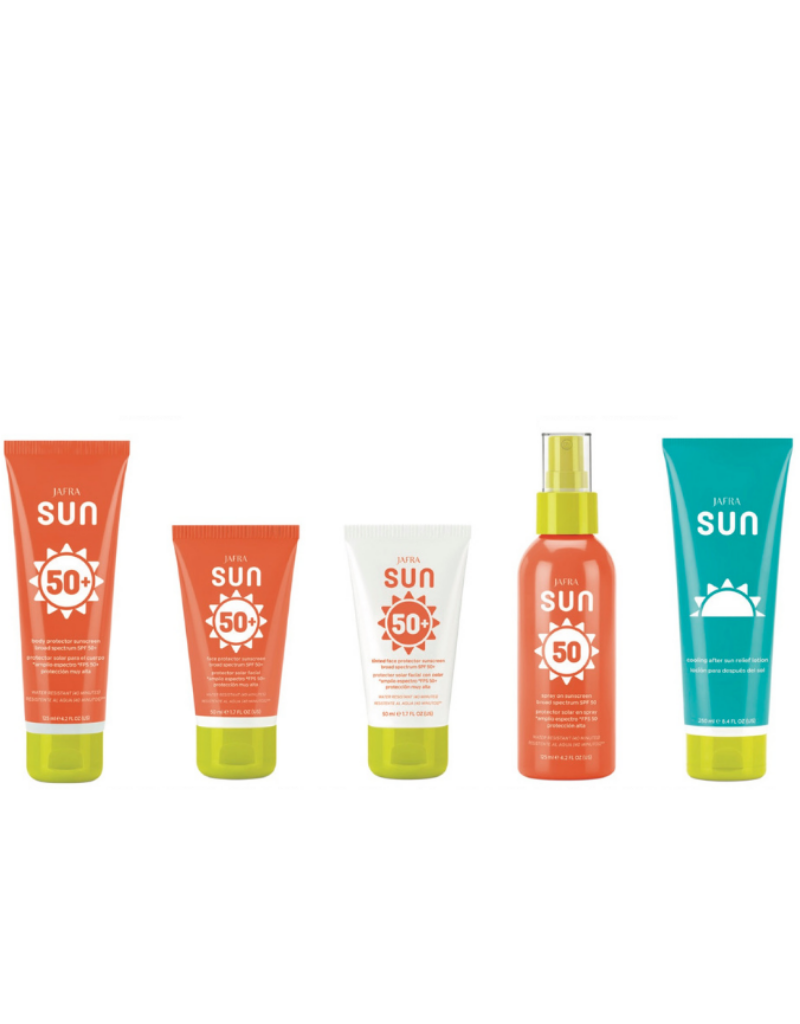 Jafra Cosmetics Jafra Sunshine Set| Sie wählen 3 Produkte - jede Kombination ist möglich