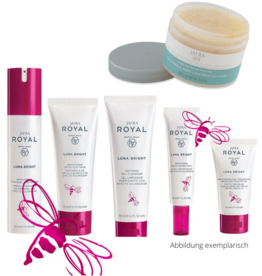 Jafra Cosmetics Royal Luna Bright Set Deluxe  | 6 Produkte