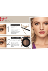 Jafra Cosmetics Jafra Mikro-Augenbrauen-Stift | Micro Brow Pencil Cool Soft Black |  0,045g