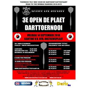 Dartshop Kattestaart 14-09-2018 3e Tattoo Loe Open De Plaet Darttoernooi
