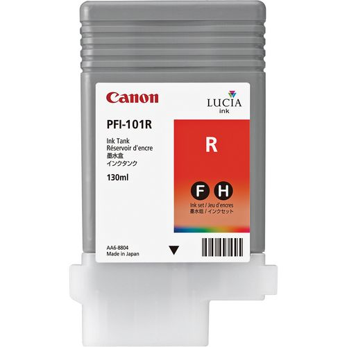 Canon Pigment Ink 130ml Red PFI-101R