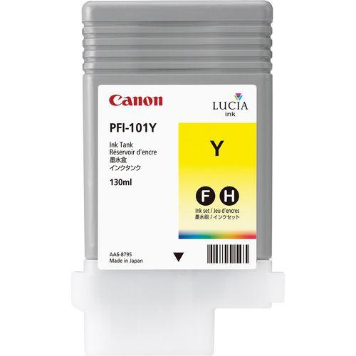 Canon Pigment Ink 130ml Yellow PFI-101Y