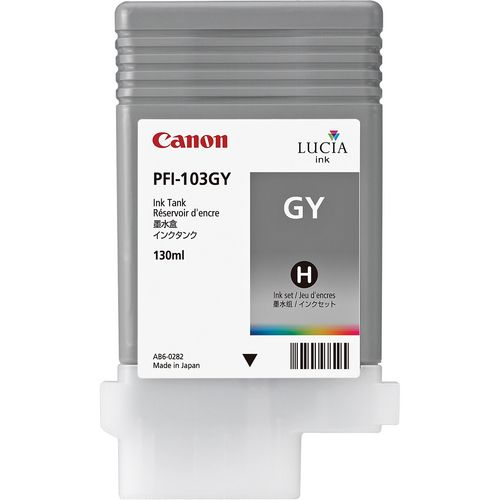 Canon Pigment Ink 130ml Grey PFI-103GY
