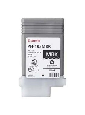 Canon Pigment Ink Matte Black 130 ml PFI-102MBK