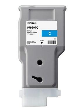 Canon Inkt Cyan 300 ml PFI-207C