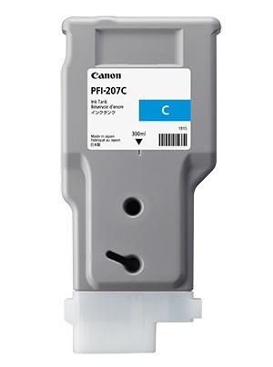 Canon Inkt tank Cyan 300 ml PFI-207C