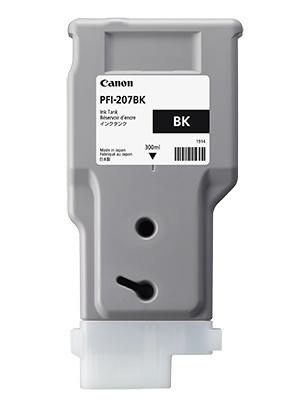 Canon Inkt tank Black 300 ml PFI-207BK