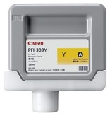 Canon Dye Ink 330ml Yellow PFI-303Y