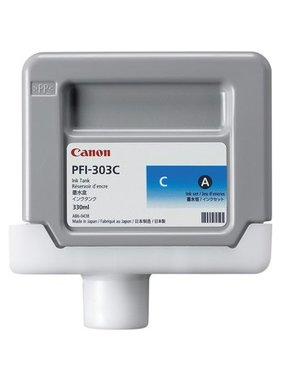 Canon Dye Ink 330ml Cyan PFI-303C