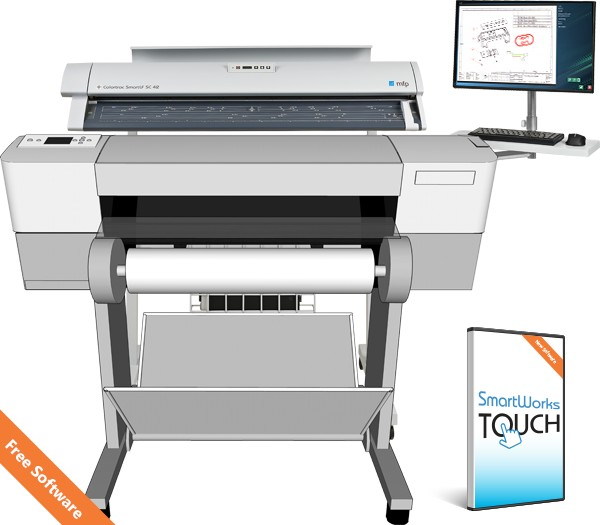 Colortrac Professional SC 42 MFP A0+ scanner