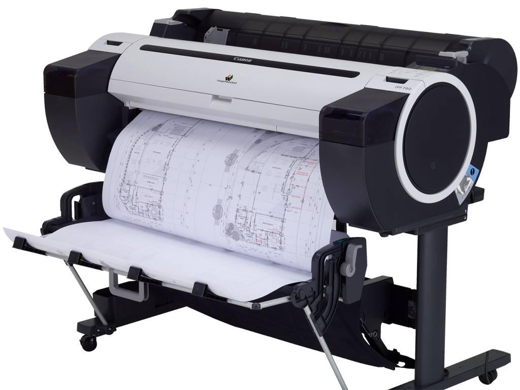 Canon iPF780 A0 plotter