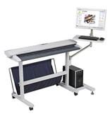 Colortrac PC & LCD monitor steun, bevestigen op de standaard, SC 25 & SC 42 model
