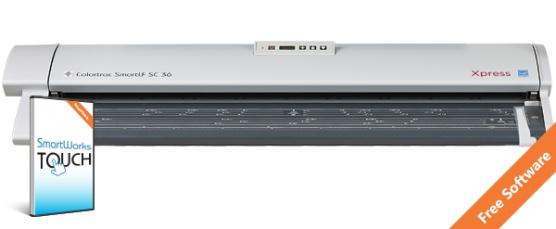 Colortrac SmartLF SC 36 Xpress zwart/wit A0 scanner