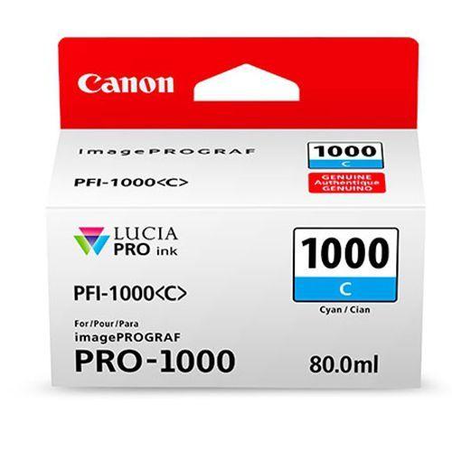 Canon PFI-1000C Cyaan 80ml - 0547C001