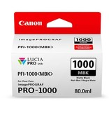 Canon PFI-1000MBK Matzwart 80ml - 0545C001