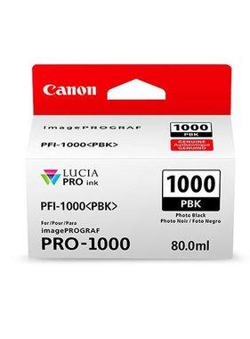 Canon PFI-1000PBK Foto zwart 80ml