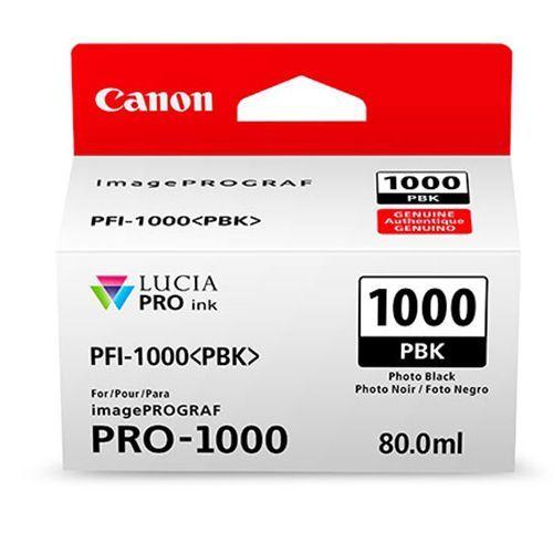 Canon PFI-1000PBK Foto zwart 80ml - 0546C001