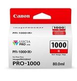 Canon PFI-1000R Rood 80ml - 0554C001