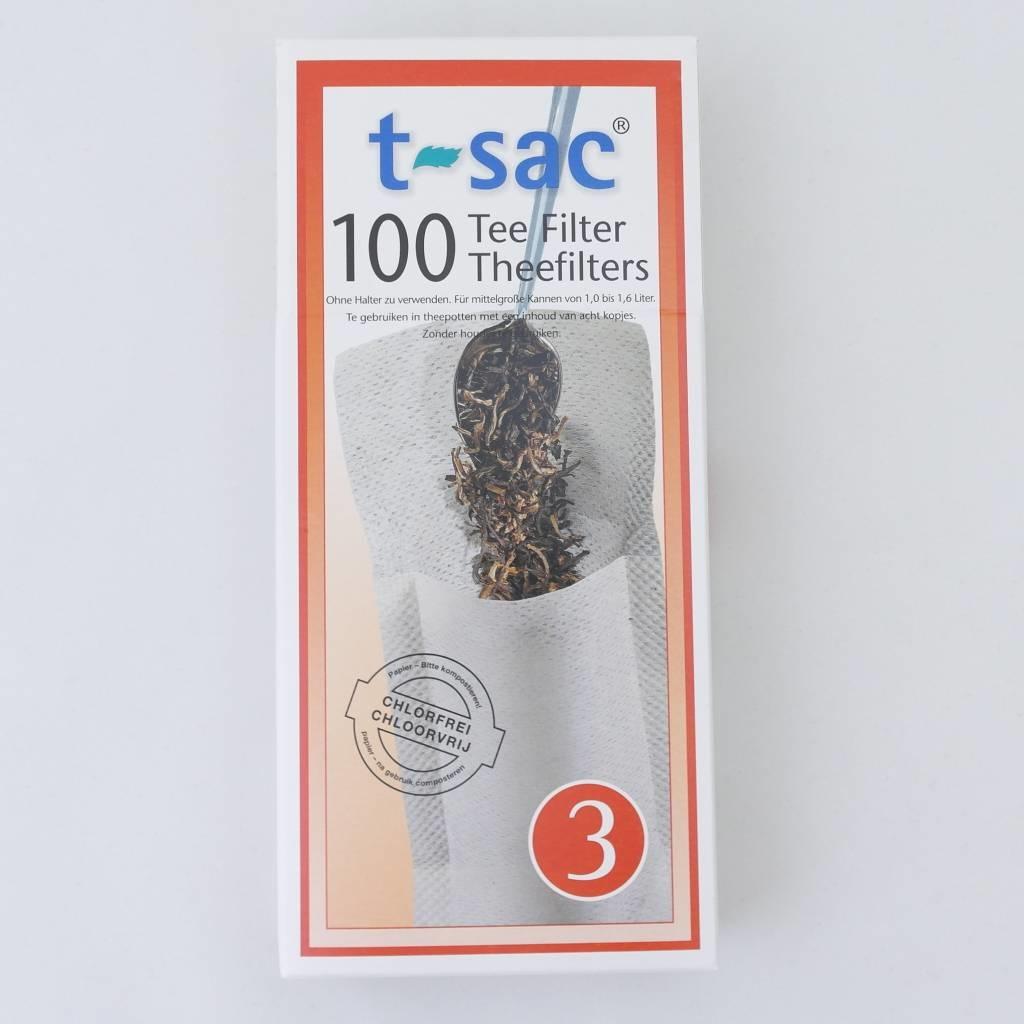 100 Lege theezakjes
