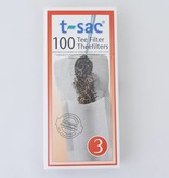 T-Sac  100 Lege theezakjes