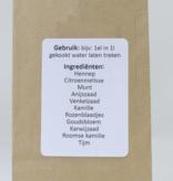 Medi-wiet  CBD Hennep thee mix 'hoofd en buik' (50gr)