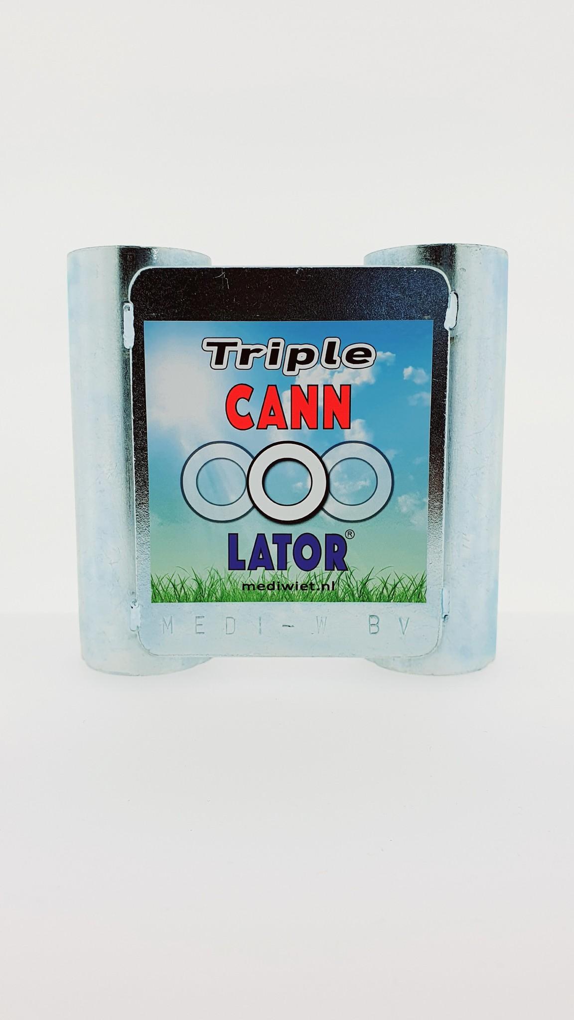 Mediwiet  Cannolator Triple opzetstuk