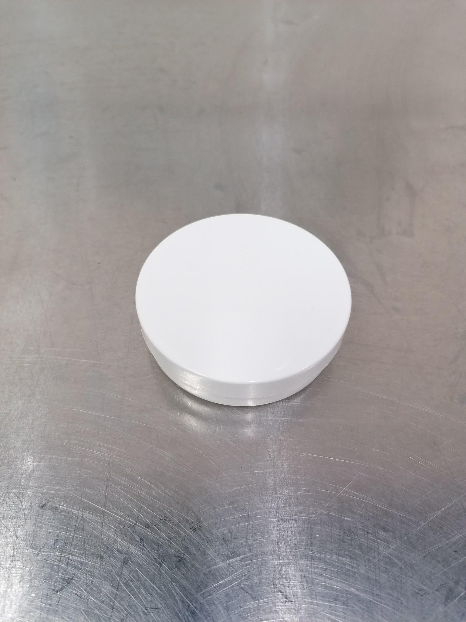 Witte zalfpot (50ml)