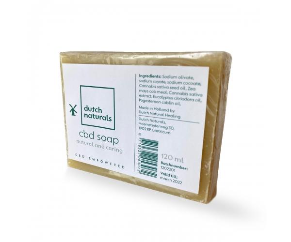 Dutch Natural Healing Dutch Naturals CBD-zeep (120ml)