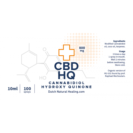 Dutch Natural Healing CBD-HQ olie (10ml)