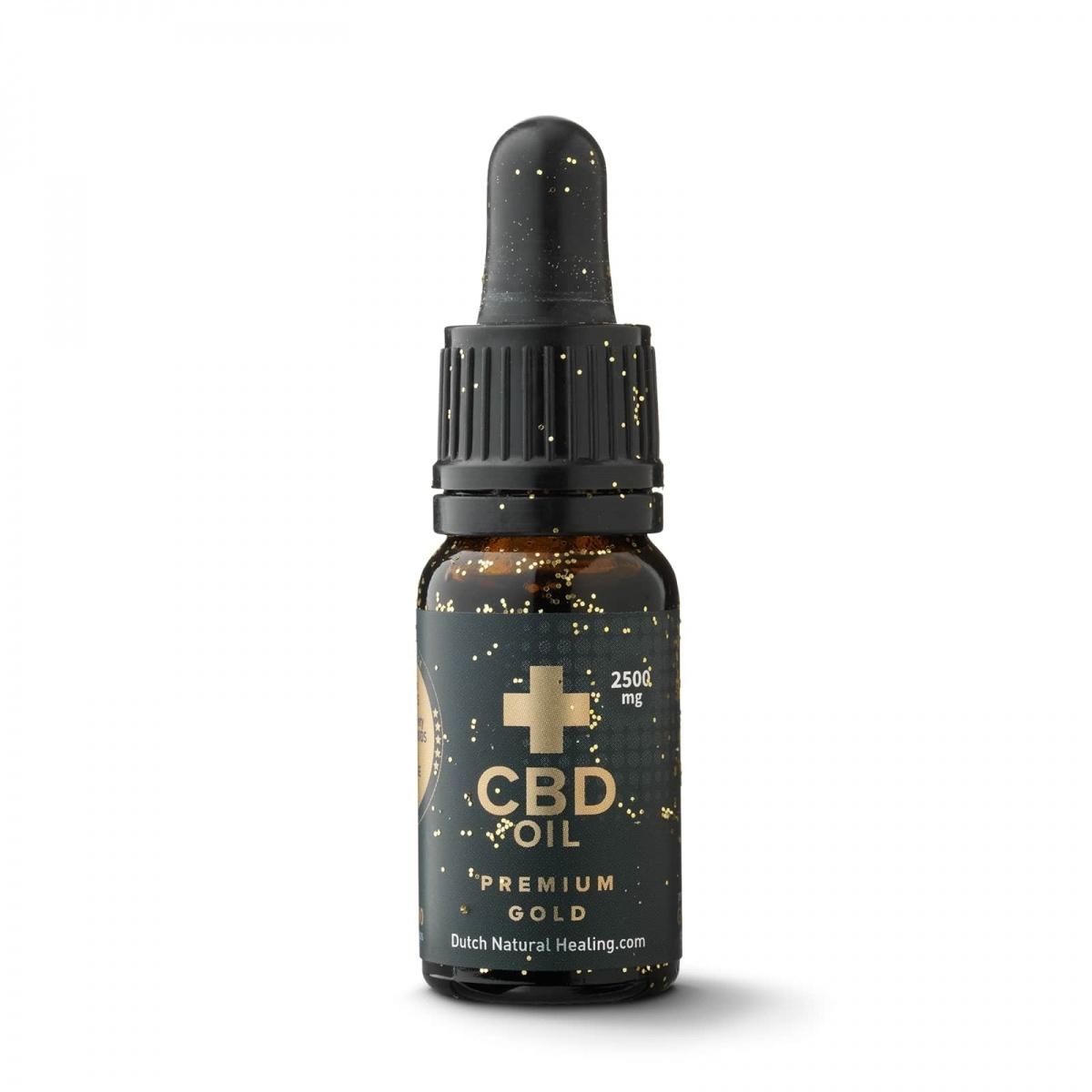 Dutch Natural Healing CBD-Oil Premium Gold  25%