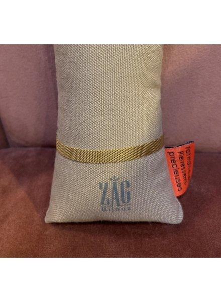 ZAG Bijoux Gouden armband mesh