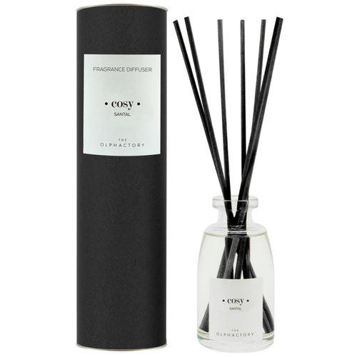 Olphactory Black fragrance diffuser Santal Cosy
