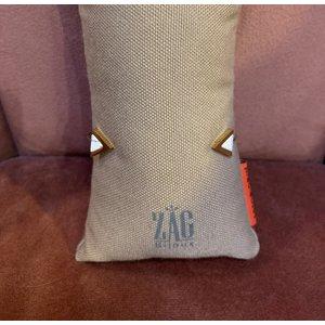 ZAG Bijoux Bangle goud met witte driehoek