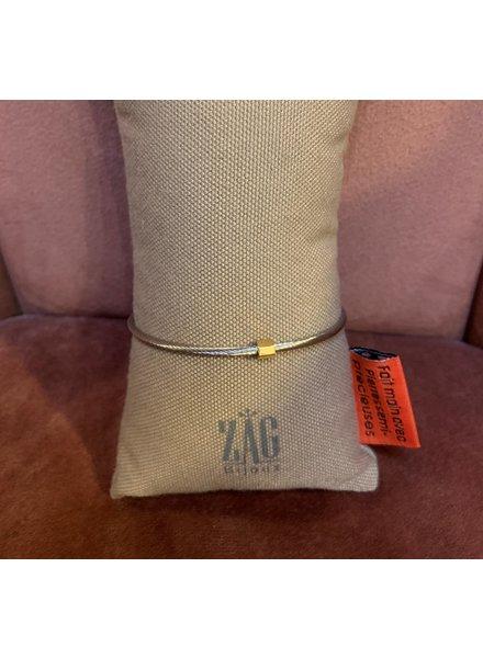 ZAG Bijoux Bangle met goud detail